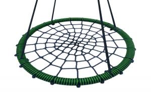 Качели подвесные круглые плетеные гнездо d- 80см.