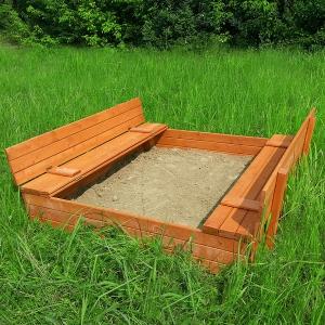 Детская игровая деревянная песочница Арена