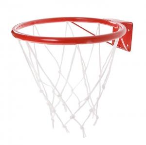Кольцо баскетбольное №3, d 295мм, с упором и сеткой
