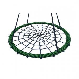 Качели подвесные круглые плетеные гнездо d- 60см.