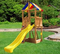 Деревянная детская Башня Пикник