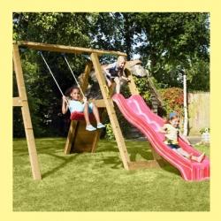 Деревянная детская площадка МиниПик