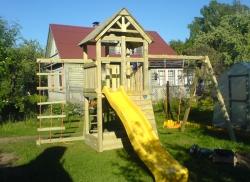 Деревянная детская площадка Пикник - Мини