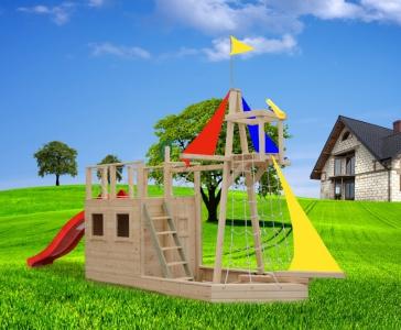 Детская площадка из дерева Ветерок