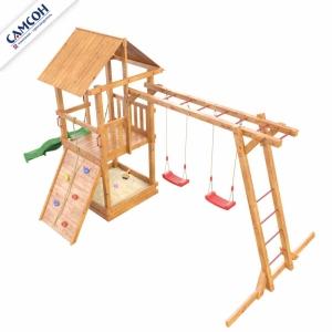 Детская площадка СИБИРИКА С РУКОХОДОМ
