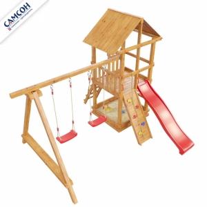 Детская площадка СИБИРИКА С СЕТКОЙ