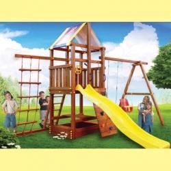 Дополнительное оборудование . Столик к деревянной детской площадке серии Пикник.