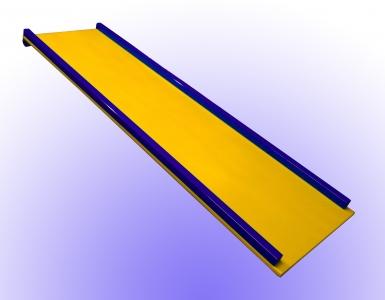 Горка -1.5 метра для дск