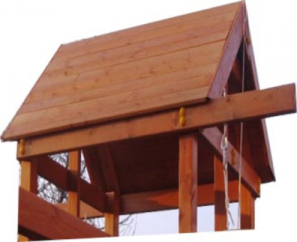 Крыша деревянная для ДИП серии САМСОН