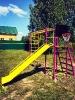 Спорткомплекс УСК-6.3 и 8.4 в фиолетовом цвете с щитом баскетбольным._1