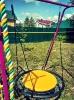 Спорткомплекс УСК-6.3 и 8.4 в фиолетовом цвете с щитом баскетбольным._4