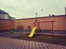 спорткомплекс Уличный Олимпик-6.3 c пластиковым скатом ФИОЛЕТОВЫЙ С РАЗНОЦВЕТНЫМИ СТУПЕНЯМИ_2