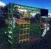 Уличный спортивный комплекс Олимпик-3.2 цвет зел/жел 21850 руб._1